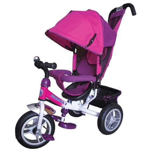 Купить Трехколесный велосипед Formula FA3 Formula 3 розовый/фиолетовый, Трехколесные велосипеды