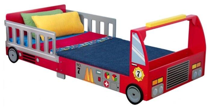Кровать детская KidKraft Пожарная машина (без белья)