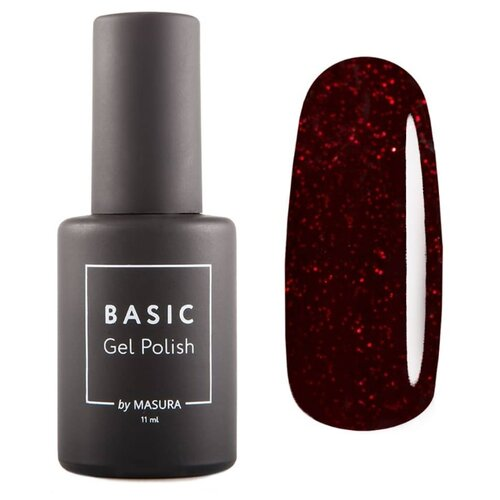 Купить Гель-лак для ногтей Masura Basic, 11 мл, Изабелла