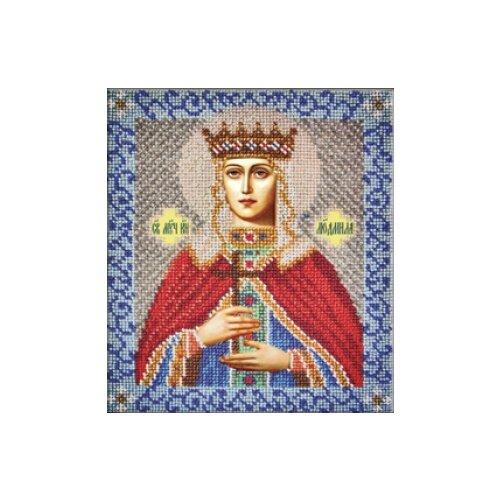Купить Вышиваем бисером Набор для вышивания бисером Святая Людмила 18 х 21 см (L-32), Наборы для вышивания