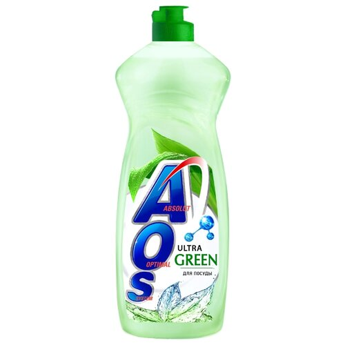 AOS Средство для мытья посуды Ultra Green 0.9 кг