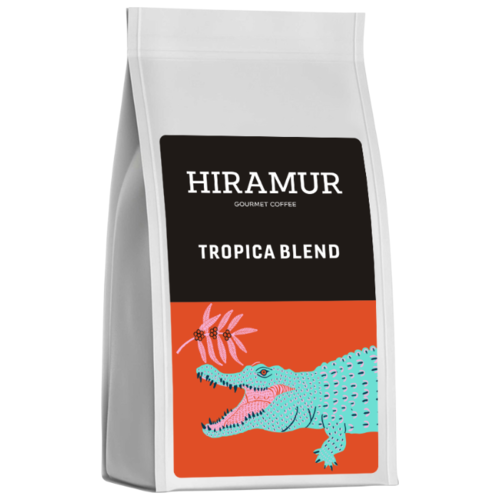Кофе в зернах Hiramur Tropica Blend, арабика, 200 г кофе в зернах hiramur mexico