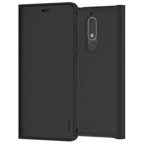 Чехол-книжка Nokia CP-307 для Nokia 5.1 black чехол для сотового телефона interstep armore для nokia 3 black harno00003knp1101ok100