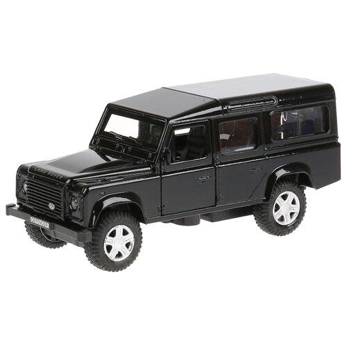 Внедорожник ТЕХНОПАРК Land Rover Defender (DEFENDER-BK/SL) 12 см черный внедорожник технопарк renault koleos koleos bu gn sl bk 12 см черный