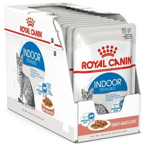Корм для стерилизованных кошек Royal Canin 12шт. х 85 г (кусочки в соусе)