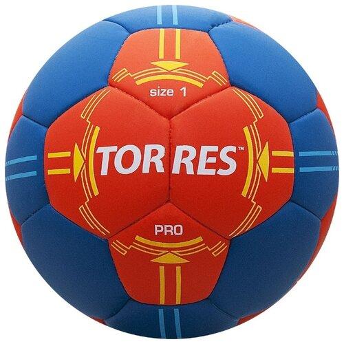 Мяч для гандбола TORRES H30061 оранжевый/синий