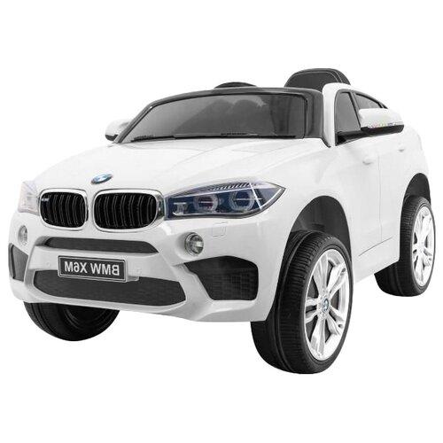 RiverToys Автомобиль BMW X6M JJ2199, белый