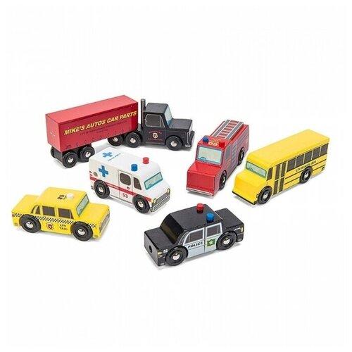 Купить Набор машинок Нью Йорк, Le Toy Van, Машинки и техника