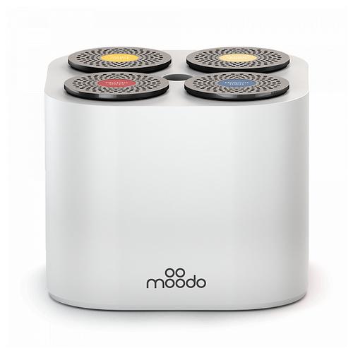 Moodo диффузор Moodo с набором капсул с батареей белый автоматический юбка moodo юбка