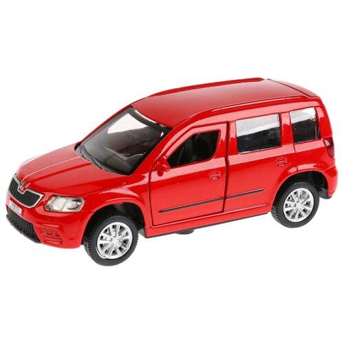 Купить Легковой автомобиль ТЕХНОПАРК Skoda Yeti (YETI-M) 12 см красный, Машинки и техника
