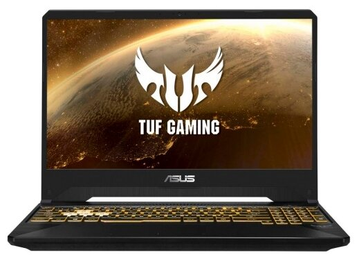"Ноутбук ASUS TUF Gaming FX505GD-BQ224T (Intel Core i5 8300H 2300 MHz/15.6""/1920x1080/8GB/1256GB HDD+SSD/DVD нет/NVIDIA GeForce GTX 1050/Wi-Fi/Bluetooth/Windows 10 Home)"