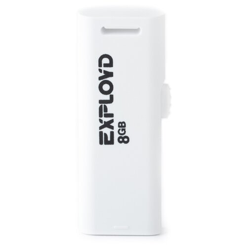 Купить Флешка EXPLOYD 580 8GB white