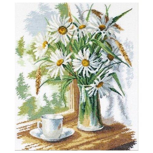 Купить Овен Набор для вышивания Ромашки на окне 28 х 35 см (946 ), Наборы для вышивания