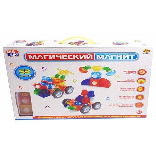 Фото - Магнитный конструктор ABtoys Магический магнит PT-00831 магнитный конструктор abtoys магический магнит pt 00751