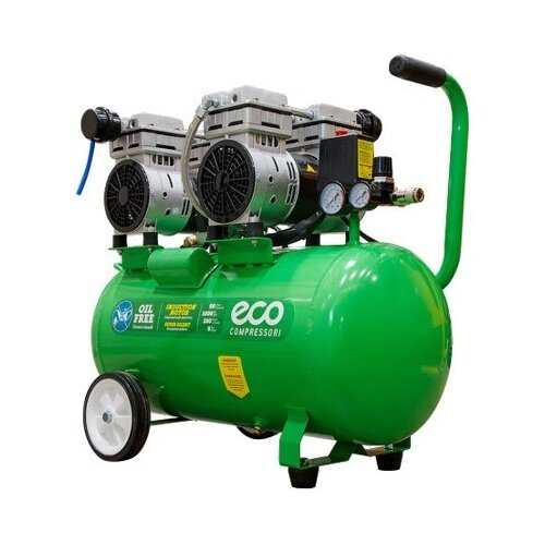 Компрессор безмасляный Eco AE-50-OF1, 50 л, 1.6 кВт