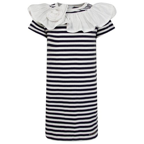 Купить Платье MARC JACOBS размер 104, белый/синий, Платья и сарафаны