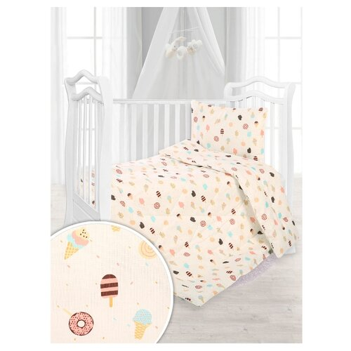 Купить Набор в кроватку Сновидение, одеяло+подушка, эскимо, Спаленка, Покрывала, подушки, одеяла