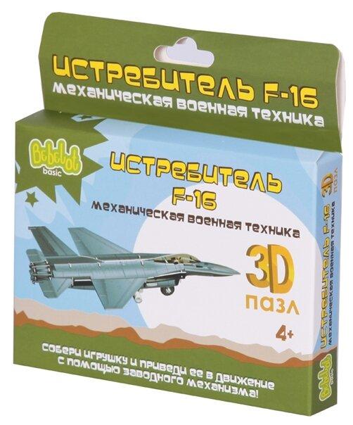 Пазл Bebelot Истребитель F-16 (BBA0505-018)