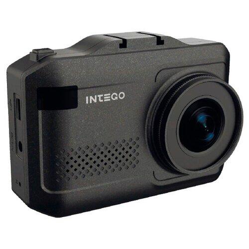 Видеорегистратор с радар-детектором Intego VX-1100S, GPS черный