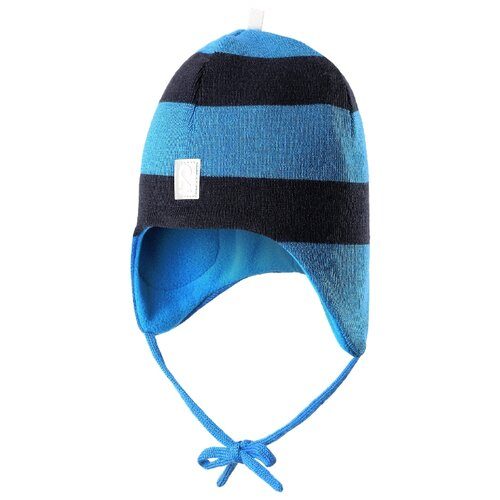 Купить Шапка Reima размер 48, 6560A голубой, Головные уборы