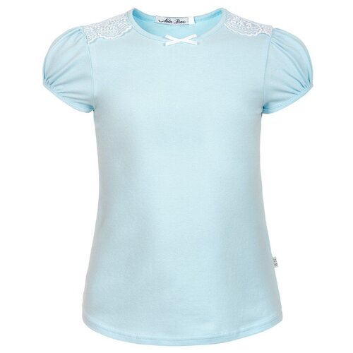 Блузка Nota Bene размер 134, голубой