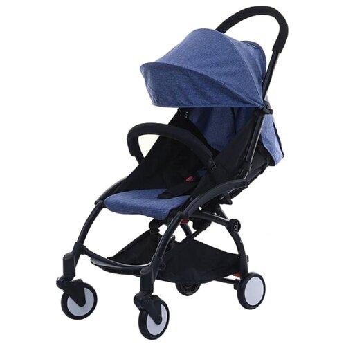 Купить Прогулочная коляска Yoya Baby (175) джинс/черная рама, цвет шасси: черный, Коляски