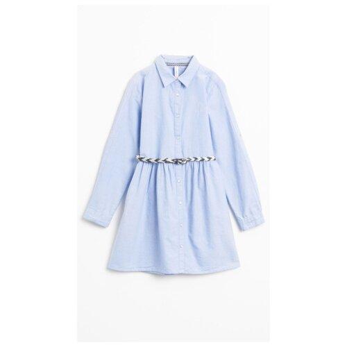 Платье COCCODRILLO размер 128, голубой цена 2017