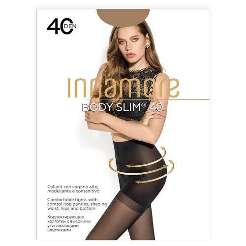 Колготки Innamore Body Slim 40 den, размер 5-XL, daino (бежевый) колготки innamore body slim 40 den размер 5 xl daino бежевый