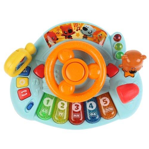 Купить Развивающее пианино с рулем со светом Ми-Ми-Мишки, Умка, Развивающие игрушки