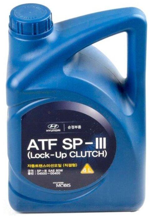 Трансмиссионное масло HYUNDAI ATF SP-III 1 л