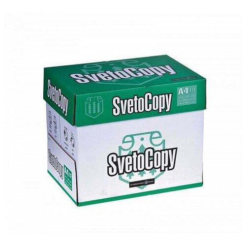 Фото - Бумага SvetoCopy A4 Classic 80 г/м² 500 лист. белая 5 шт. бумага a4 500 шт maestro special