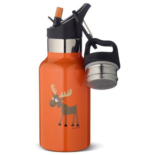 Carl Oscar Детская термос-фляга TEMPflask™ Moose 0.35л оранжевая