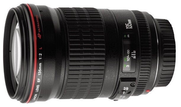 Объектив Canon EF 135mm f/2L USM фото 1