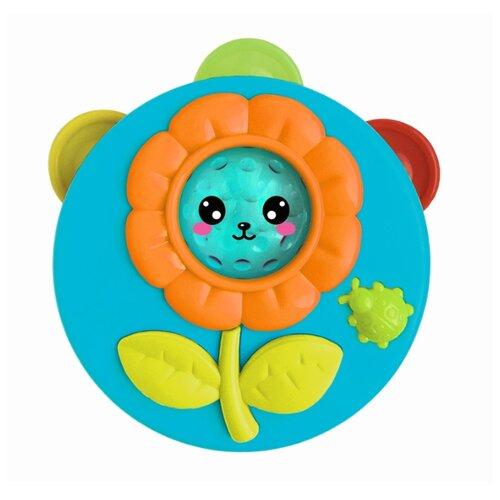 Купить Азбукварик бубен 2184 голубой, Детские музыкальные инструменты