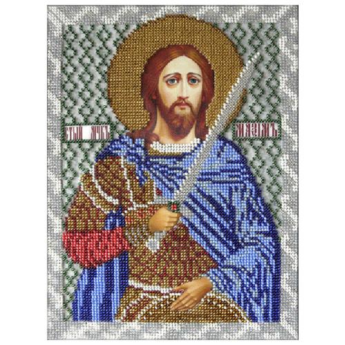 Вышиваем бисером Набор для вышивания бисером Святой Максим 19 х 25 см (L-91), Наборы для вышивания  - купить со скидкой