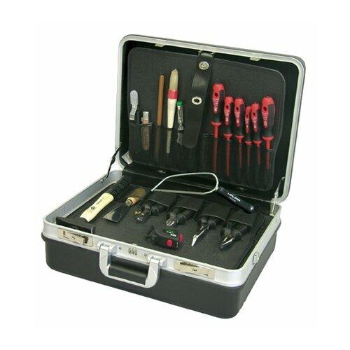 Набор электромонтажного инструмента Haupa 220221 19 предм. черный/красный.