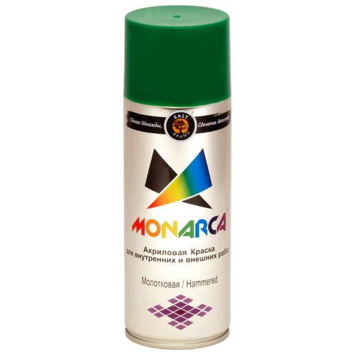 Краска Eastbrand Monarca молотковая темно-зеленый 520 мл