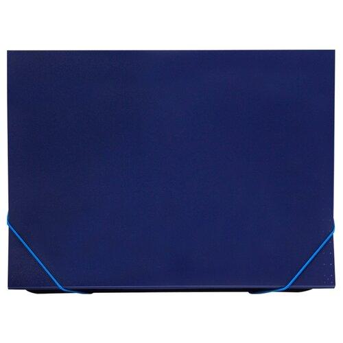 OfficeSpace Папка с 13 отделениями, А4, на резинке, пластик 500 мкм синий officespace папка адресная с гербом а4 балакрон синий