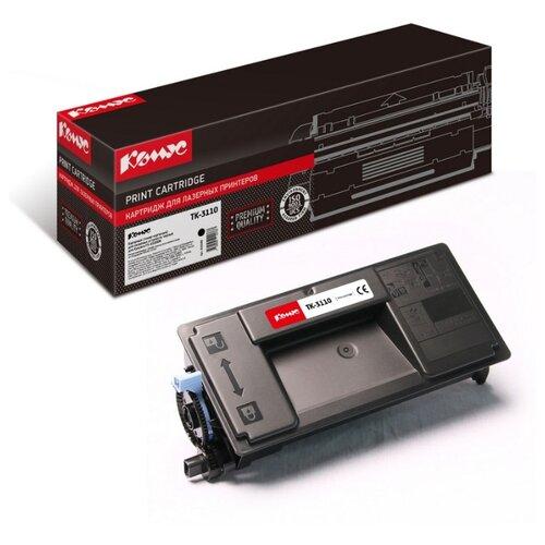 Фото - Картридж лазерный Комус TK-3110 черный, для Kyocera FS-4100DN картридж лазерный комус tk 580k черный для kyocera fs c5150dn