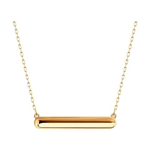 SOKOLOV Колье из золота 070331, 45 см, 2.27 г