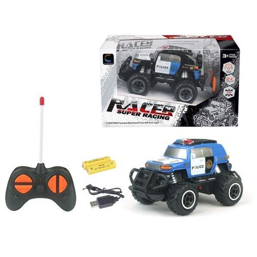 Купить Внедорожник Shantou Gepai 6149D/DT 20 см голубой/белый, Радиоуправляемые игрушки