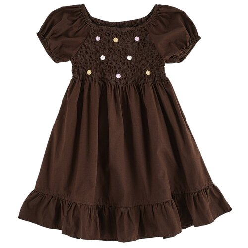 Купить Платье Mini Maxi размер 98, кофе, Платья и сарафаны