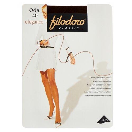 Колготки Filodoro Classic Oda Elegance, 40 den, размер 2-S, cappuccio (коричневый) колготки filodoro classic oda elegance 40 den размер 2 s cappuccio коричневый