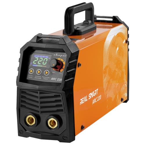 Сварочный аппарат инверторного типа Сварог REAL SMART ARC 220 (Z28403) (TIG, MMA) сварочный аппарат сварог real arc 250d z226