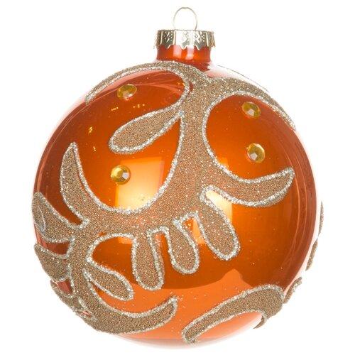 Набор шаров KARLSBACH 06786, оранжевый с узором