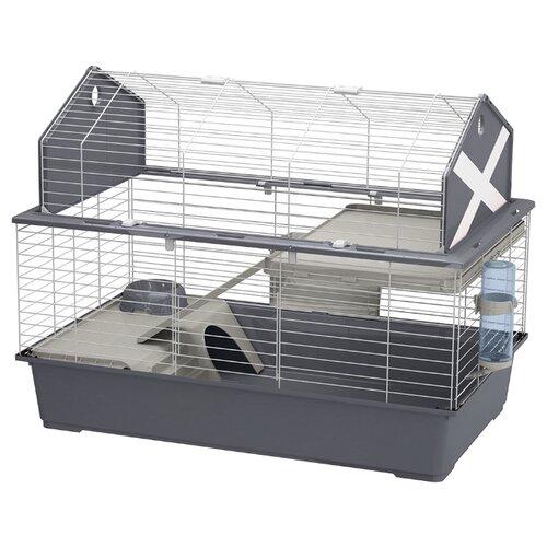 Клетка для кроликов Ferplast Barn 100 96х57х73 см серый
