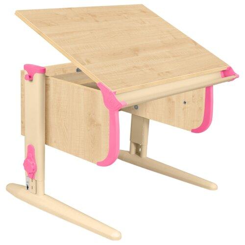 Купить Стол ДЭМИ СУТ-24 75x55 см клен/розовый/бежевый, Парты и столы