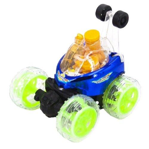 Купить Машинка-перевертыш Ren Da RD970-3 18 см синий, Радиоуправляемые игрушки