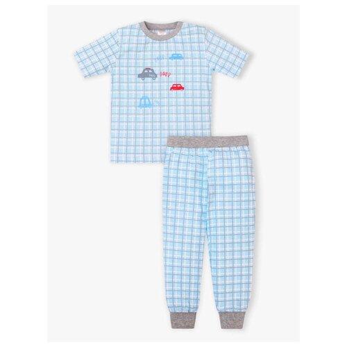 Пижама KotMarKot размер 110, голубой