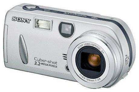 Фотоаппарат Sony Cyber-shot DSC-P52